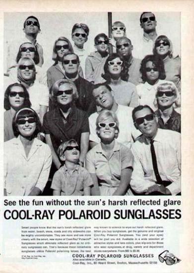 Top de linha: na mesma década, a linha Cool Ray era a novidade da marca