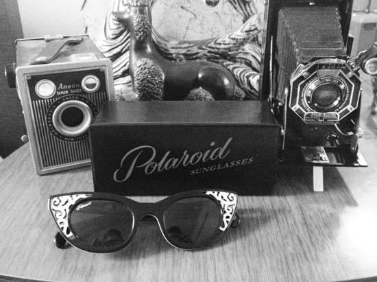 Raridade: óculos vintage Polaroid © Vintagevandalizm
